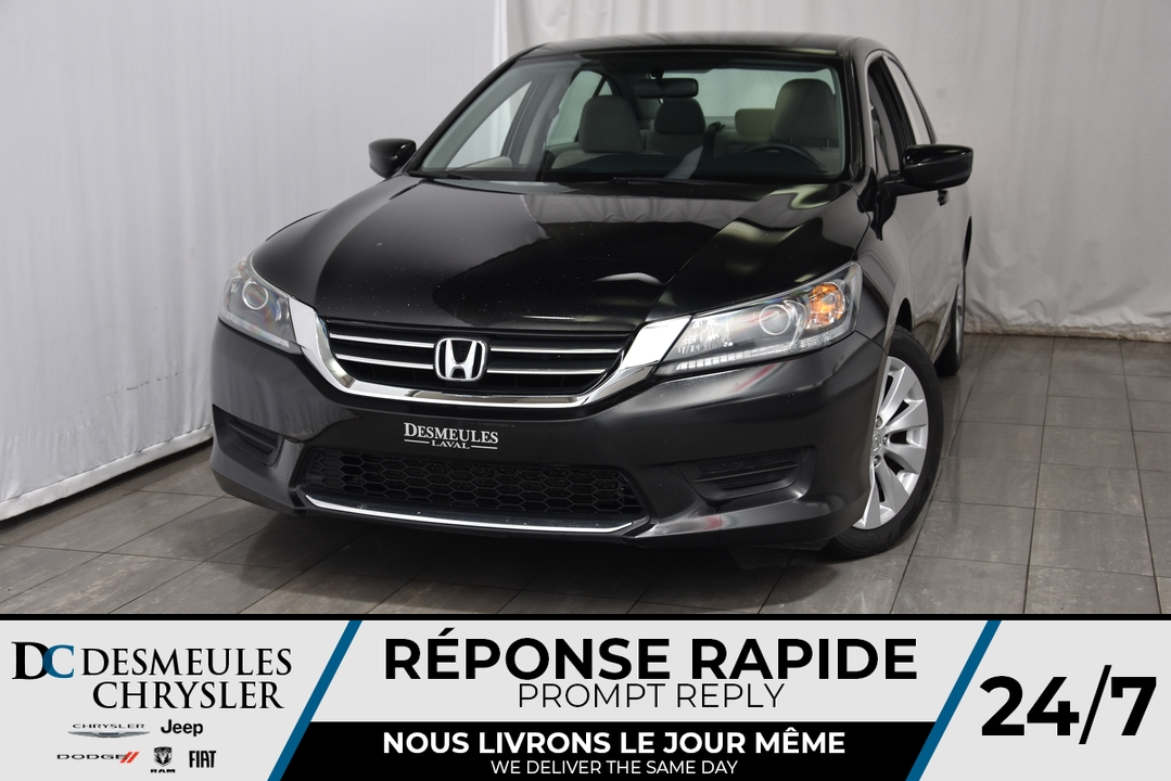 2015 Honda Accord Sedan  - Desmeules Chrysler