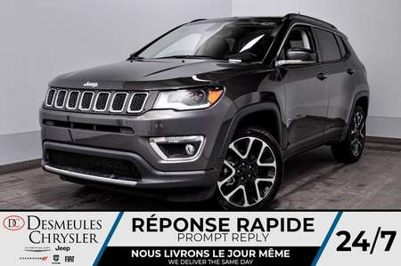2020 Jeep Compass Limited + BANCS CHAUFF + TURBO *115$/SEM for Sale  - DC-20047  - Desmeules Chrysler