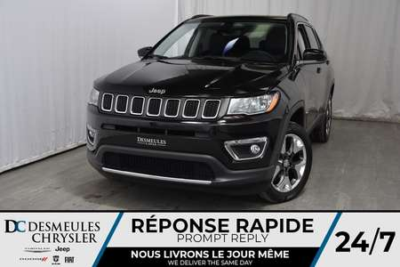 2018 Jeep Compass Limited for Sale  - DC-81211  - Desmeules Chrysler