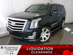2017 Cadillac Escalade LUXURY  *  MAGS  *  NAV  *   RADIO SATELLITE  - BC-P1376  - Desmeules Chrysler