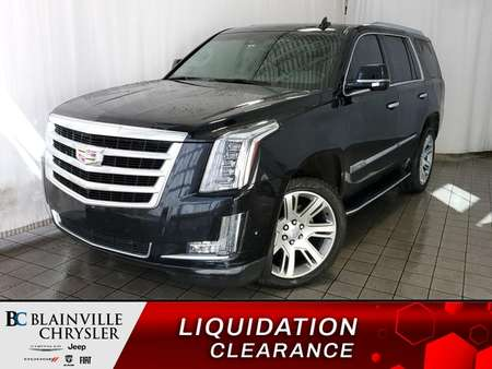 2017 Cadillac Escalade LUXURY  *  MAGS  *  NAV  *   RADIO SATELLITE for Sale  - BC-P1376  - Desmeules Chrysler