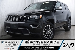 2018 Jeep Grand Cherokee 119$/SEM + LIMITED + CUIR + BLUETOOTH + MAGS  - BC-P1198  - Desmeules Chrysler