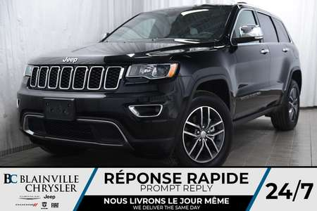 2018 Jeep Grand Cherokee LIMITED + CUIR + BLUETOOTH + MAGS for Sale  - BC-P1198  - Desmeules Chrysler