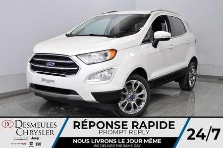 2018 Ford EcoSport Titanium + bancs chauff + a/c + toit ouv + cam for Sale  - DC-20374A  - Desmeules Chrysler