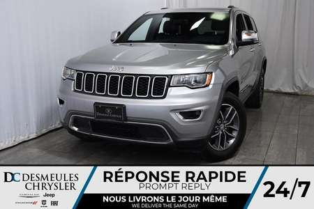 2017 Jeep Grand Cherokee Limited * Cam Rec * Bancs Chauff for Sale  - DC-M1174  - Desmeules Chrysler