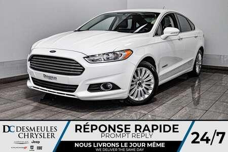 2014 Ford Fusion SE Hybrid + bancs chauff + bluetooth + cam recul for Sale  - DC-D1706  - Desmeules Chrysler