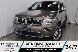 2018 Jeep Grand Cherokee Limited * Cam Rec * 4 Sièges Chauff * NAV  - DC-M1269  - Desmeules Chrysler