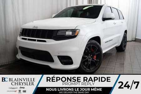 2017 Jeep Grand Cherokee SRT + V8 6.4L + 4WD + MAGS + LAUNCH CONTROL for Sale  - BC-90337A  - Desmeules Chrysler