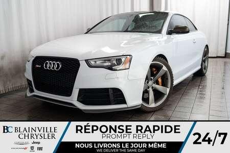 2013 Audi RS5 MAGS * QUATTRO * 4.2L V8 * TRANSMISSION DSG for Sale  - BC-20090A  - Desmeules Chrysler