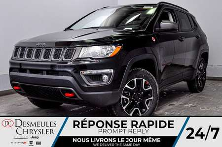 2020 Jeep Compass Trailhawk + BANCS CHAUFF + TOIT OUV *106$/SEM for Sale  - DC-20074  - Desmeules Chrysler