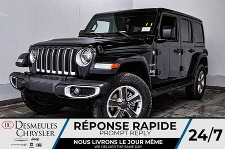 2020 Jeep Wrangler Unlimited Sahara + UCONNECT + WIFI *146$/SEM for Sale  - DC-20106  - Desmeules Chrysler