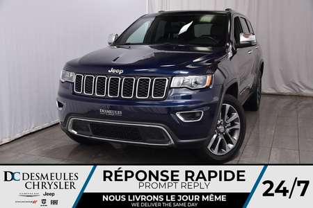 2018 Jeep Grand Cherokee Limited * Toit Ouvr  * Cam Rec * GPS for Sale  - DC-M1194  - Desmeules Chrysler