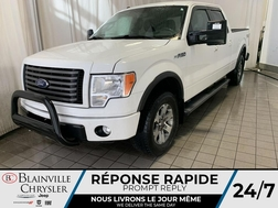 2012 Ford F-150 * 4X4 * MAGS * BLUETOOTH * FREIN REMORQUE * CRUISE  - BC-20185B  - Desmeules Chrysler