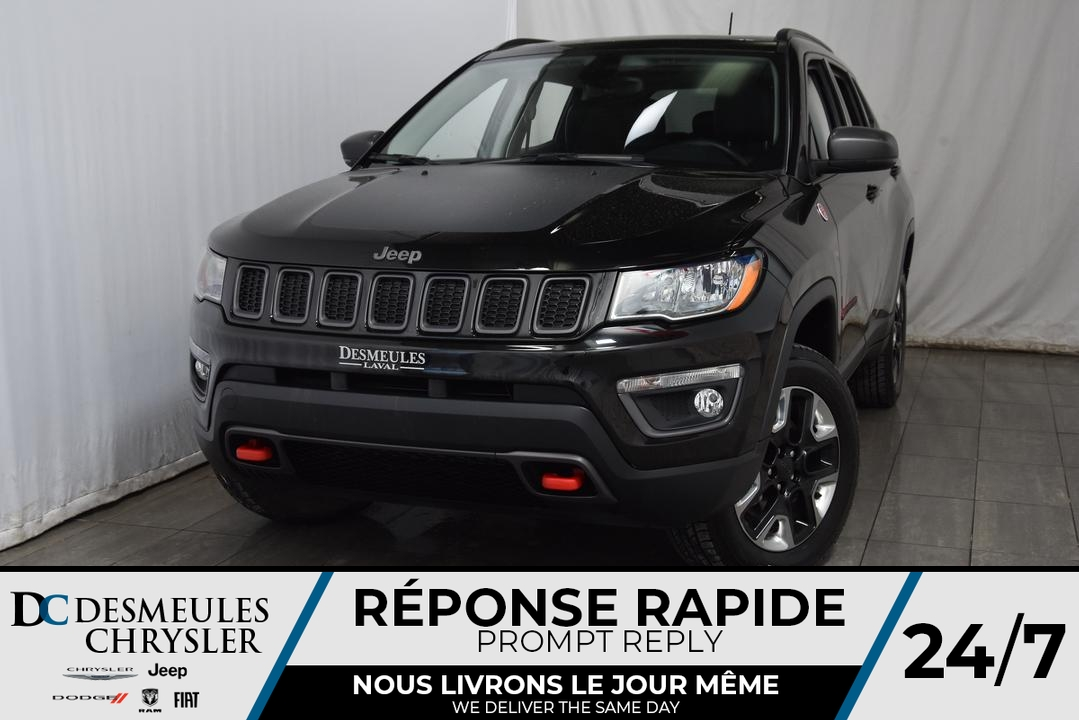 2017 Jeep Compass  - Desmeules Chrysler