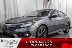 2018 Honda Civic Sedan Touring * CAM RECUL * BANCS CHAUFF * DÉMAREUR *  - BC-90435B  - Blainville Chrysler
