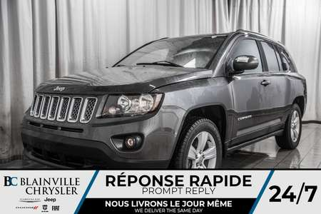 2014 Jeep Compass NORTH * 4X4 * DEM. A DISTANCE * AUTOMATIQUE * A/C for Sale  - BC-D1554A  - Blainville Chrysler