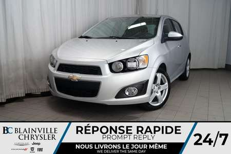 2014 Chevrolet Sonic LT * MAGS * BLUETOOTH * RADIO SATELLITE for Sale  - BC-P1425  - Desmeules Chrysler