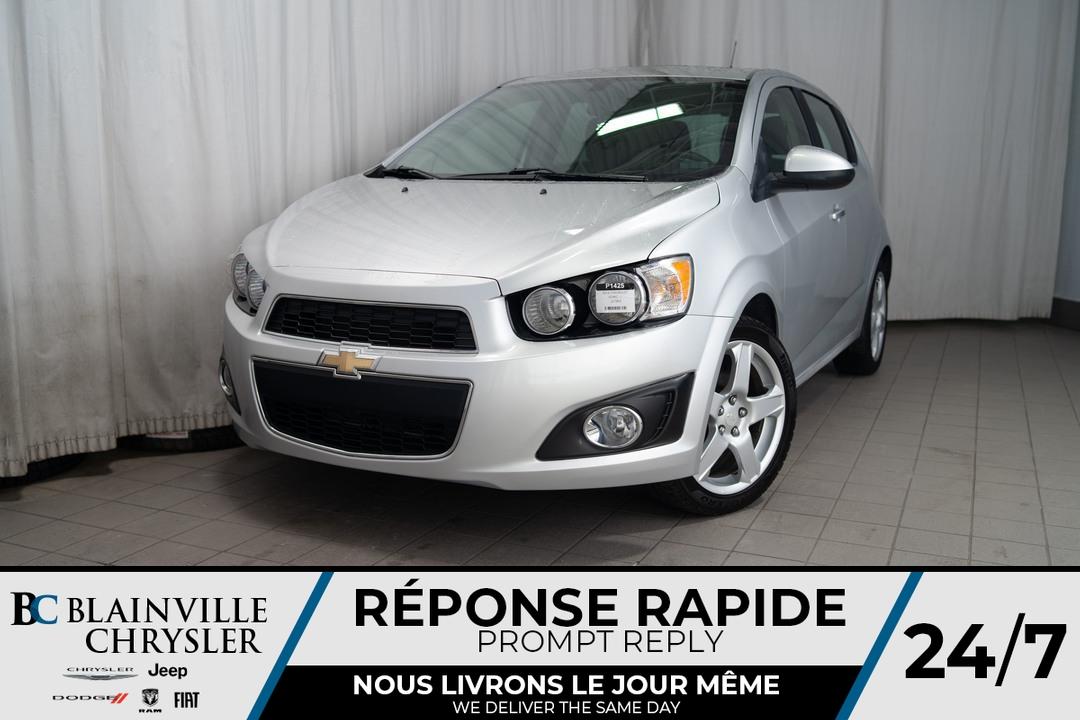 2014 Chevrolet Sonic  - Desmeules Chrysler