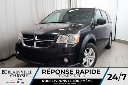 2018 Dodge Grand Caravan CREW PLUS * MAGS * BLUETOOTH * NAV * HOMELINK for Sale  - BC-P1440  - Desmeules Chrysler