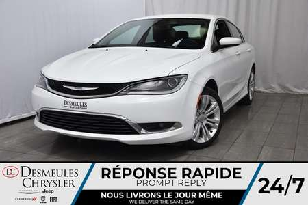 2016 Chrysler 200 NAV * Sièges & Volant Chauff. * Enter-N-Go for Sale  - DC-DE61946  - Desmeules Chrysler