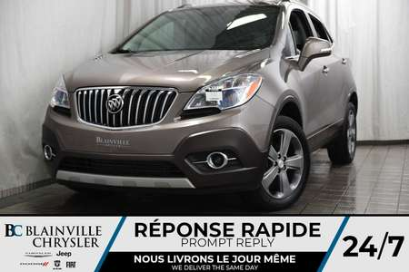2014 Buick Encore MAGS * AWD * BLUETOOTH * CUIR * CLIM * ONSTAR for Sale  - BC-P1242A  - Desmeules Chrysler
