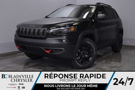 2020 Jeep Cherokee Trailhawk  + BANCS CHAUFF + UCONNECT *127$/SEM for Sale  - BC-20158  - Desmeules Chrysler