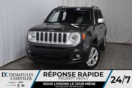 2018 Jeep Renegade Limited * Bouton Start * Cam. Recul * GPS * A/C for Sale  - DC-M1245  - Desmeules Chrysler