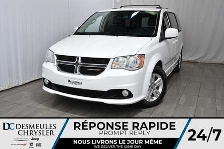 2016 Dodge Grand Caravan Crew Plus * Cam Rec * 2 Écrans Divertissement for Sale  - DC-M1150  - Blainville Chrysler