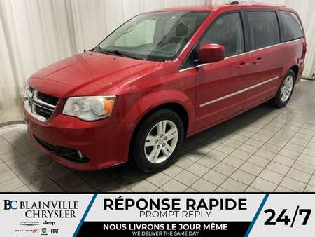 2012 Dodge Grand Caravan CREW * STOW'N'GO * PROPRE * BI-ZONE * CRUISE * for Sale  - BC-90467A  - Desmeules Chrysler