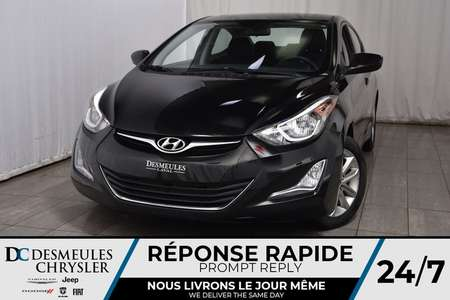 2016 Hyundai Elantra SE * Cam Rec * Sièges Chauff * A/C * Automatique for Sale  - DC-M1242  - Blainville Chrysler