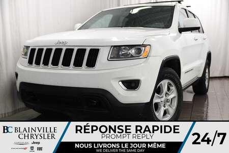2014 Jeep Grand Cherokee 71$/SEM + LAREDO + 4X4 + V6 3.6L + MAGS + TOIT for Sale  - BC-80232A  - Blainville Chrysler