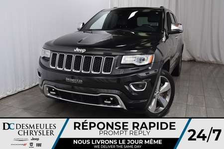 2016 Jeep Grand Cherokee Overland * Toit Ouvr. Pano. * NAV * Cam. Recul for Sale  - DC-A1235  - Desmeules Chrysler
