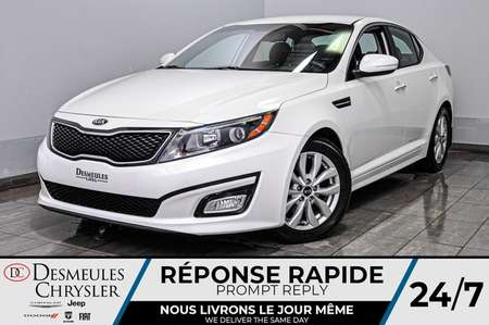2015 Kia Optima EX + bancs chauff + cam recul + bluetooth + a/c for Sale  - DC-D1777  - Desmeules Chrysler