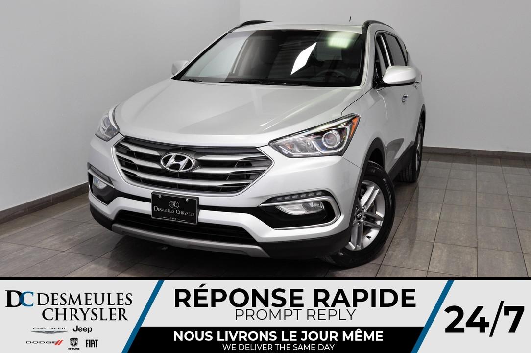 2018 Hyundai Santa Fe Sport  - Desmeules Chrysler