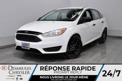 2015 Ford Focus S + manuel + bluetooth + a/c + cam recul  - DC-D1960A  - Blainville Chrysler