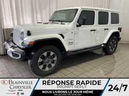 2018 Jeep Wrangler SAHARA * NAVIGATION * CAMERA RECUL * BLUETOOTH  - BC-20266A  - Blainville Chrysler