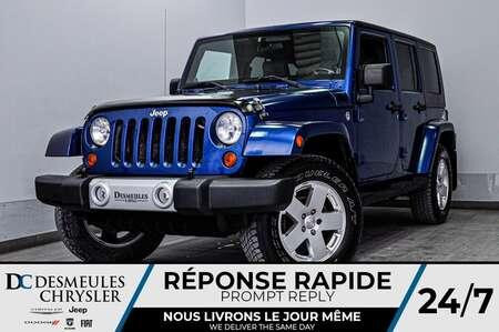 2010 Jeep Wrangler Sahara + a/c for Sale  - DC-20151A  - Desmeules Chrysler