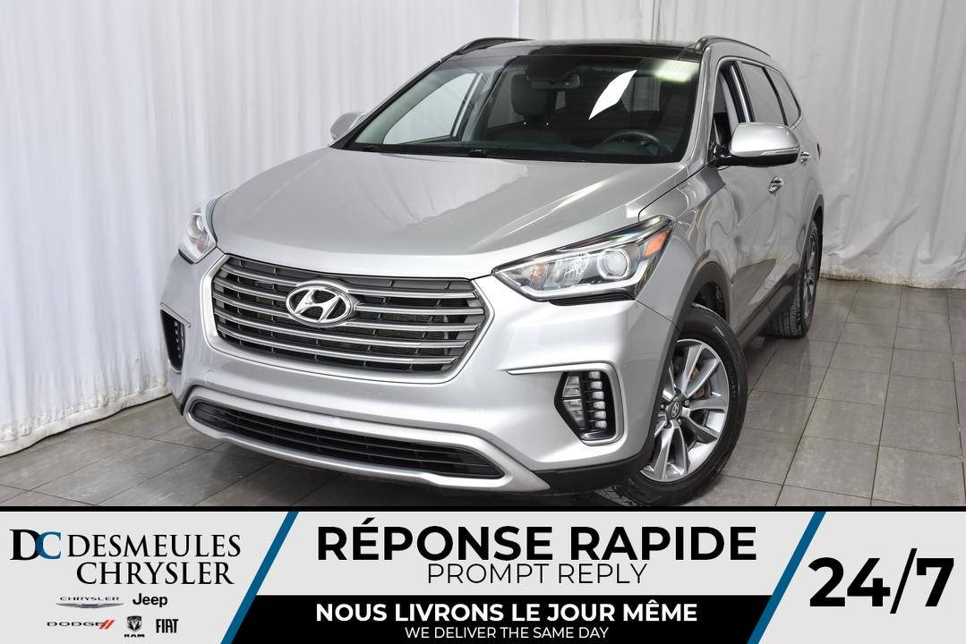 2017 Hyundai Santa Fe  - Desmeules Chrysler