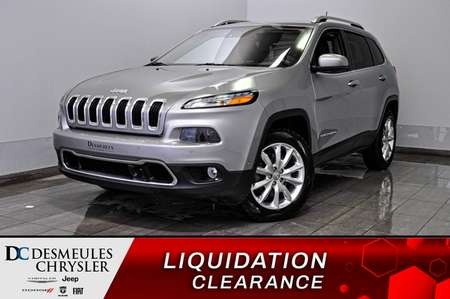2016 Jeep Cherokee Limited + bancs chauff + bluetooth + a/c multi for Sale  - DC-91144A  - Desmeules Chrysler